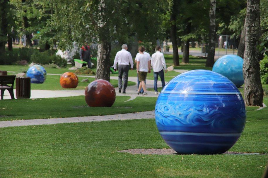 Сегодня в парке «Сокольники» состоится открытие обновленного Сада астрономов
