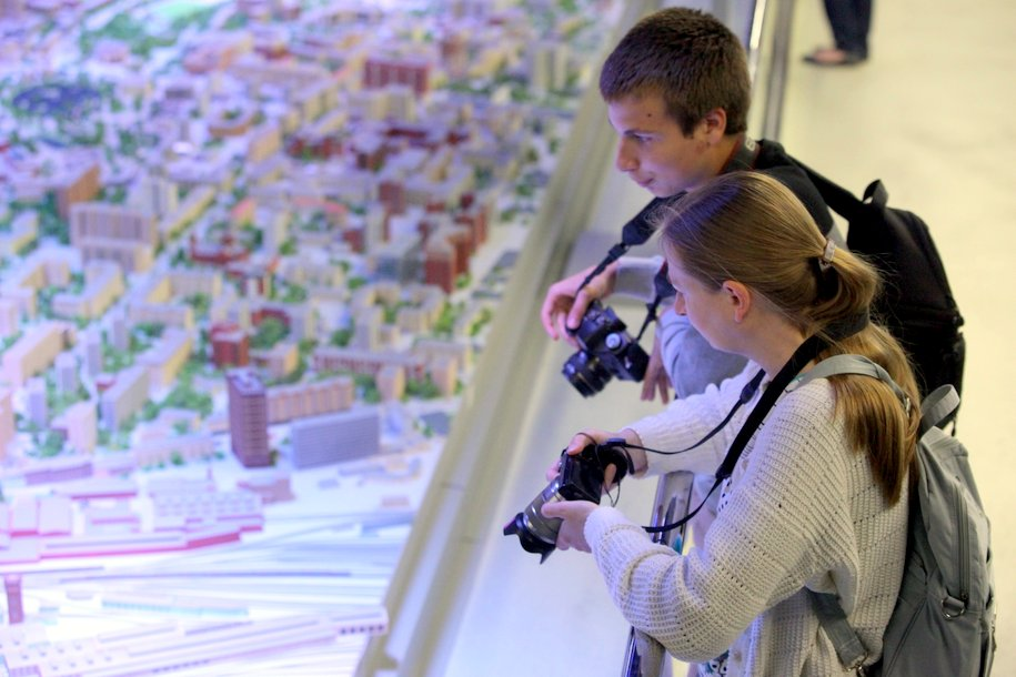 Москвичи смогут увидеть интерактивные макеты «Лужников» и «Москва-Сити» на выставке в «Манеже»