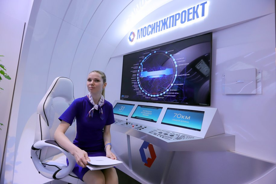 Около 45 км тоннелей метро планируется построить в 2019 году в Москве