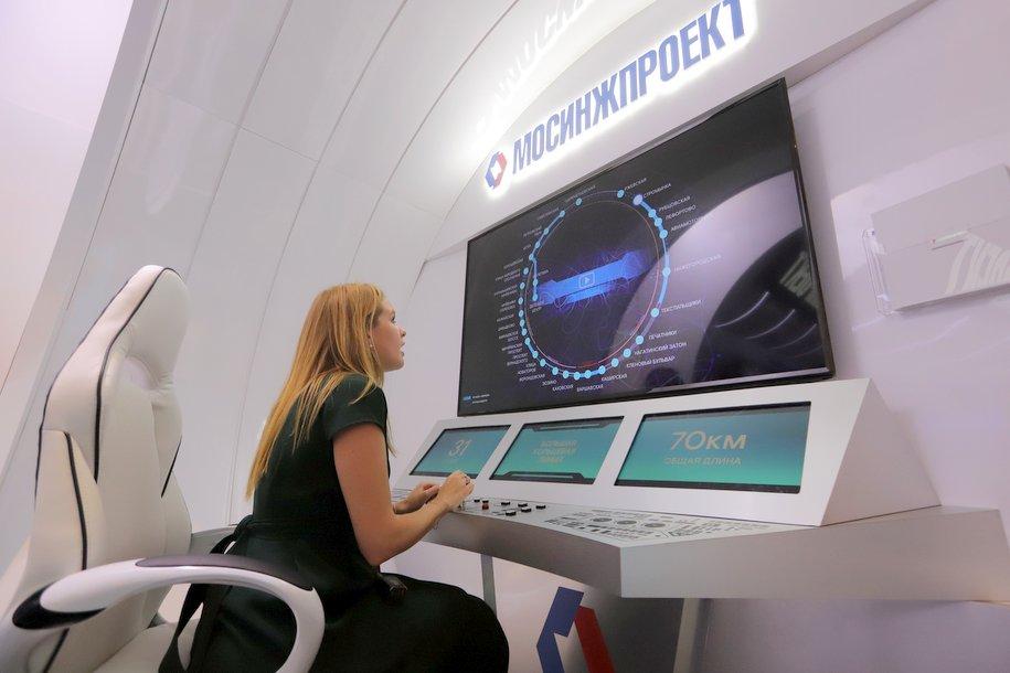 За восемь лет в Москве построено 155 км линий и 81 станция метро и МЦК