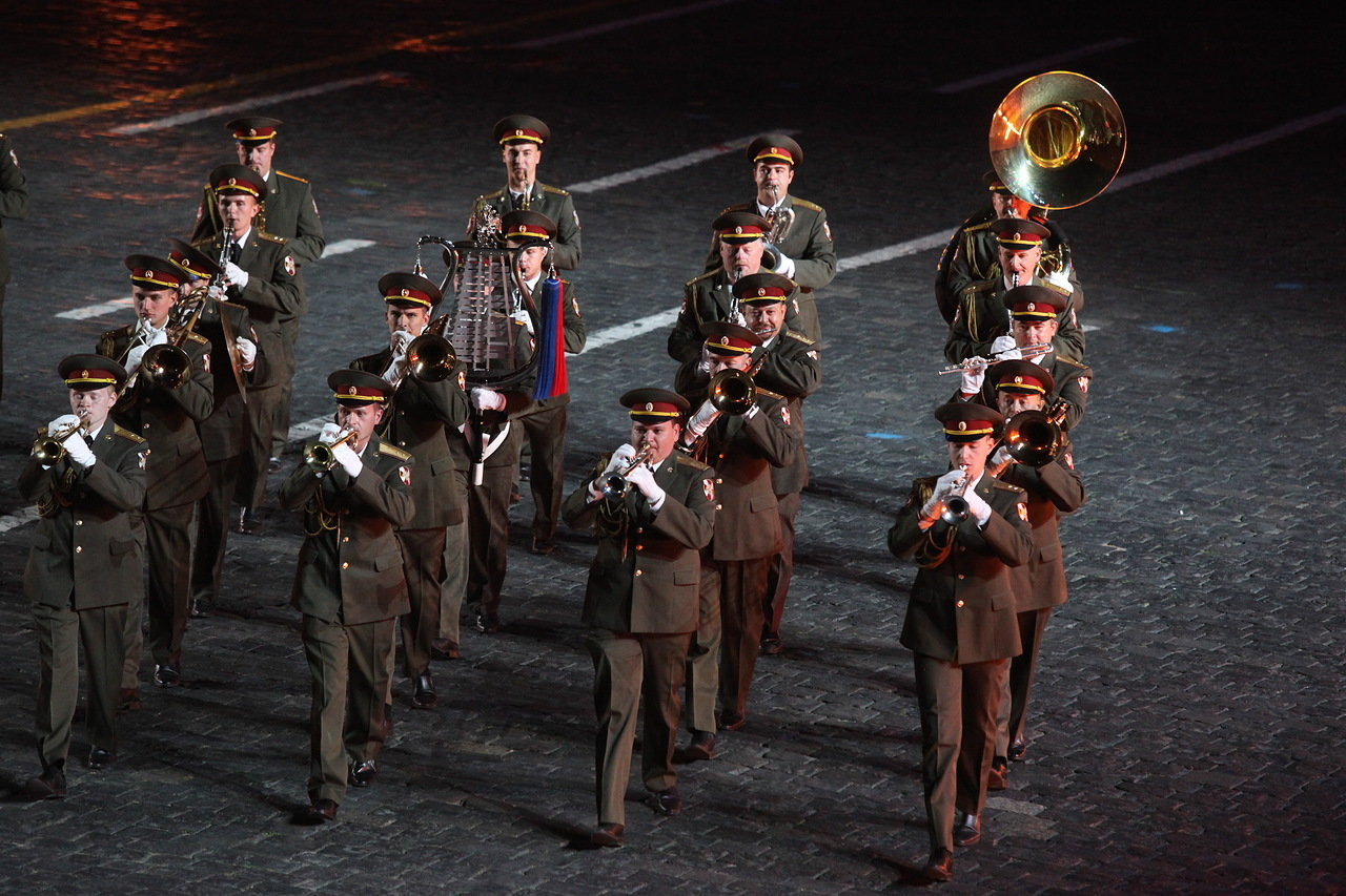 Международный военно-музыкальный фестиваль «Спасская башня» пройдет в Москве с 23 августа по 1 сентября