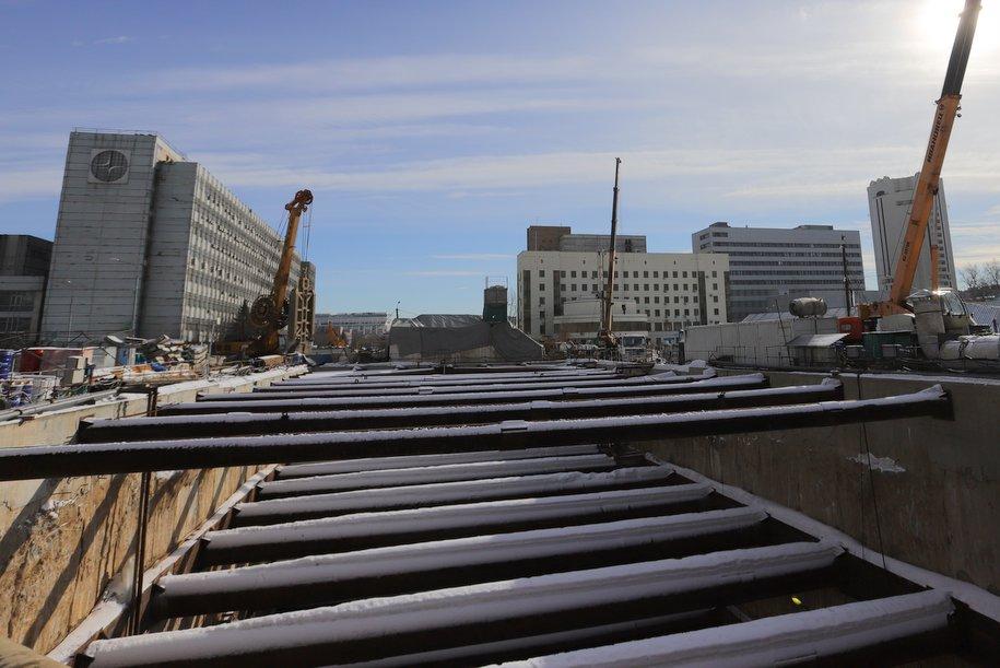 Западный участок БКЛ метро будет готов через 2,5 года