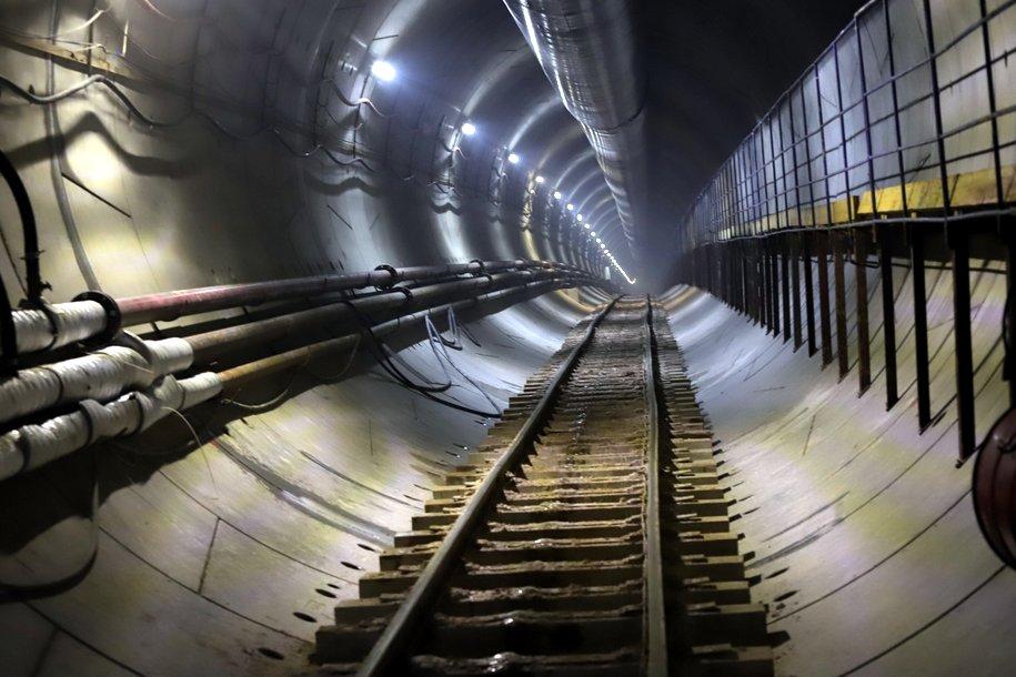 Участок тоннеля БКЛ под действующей станцией «Проспект Вернадского» готов