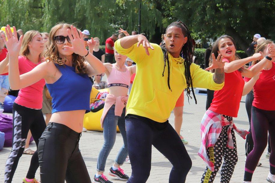 В Екатерининском парке состоялся фестиваль «Свежесть лета»