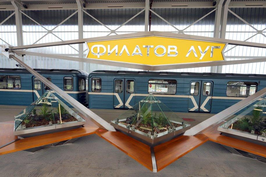 У станции метро «Филатов луг» можно оставить велосипед