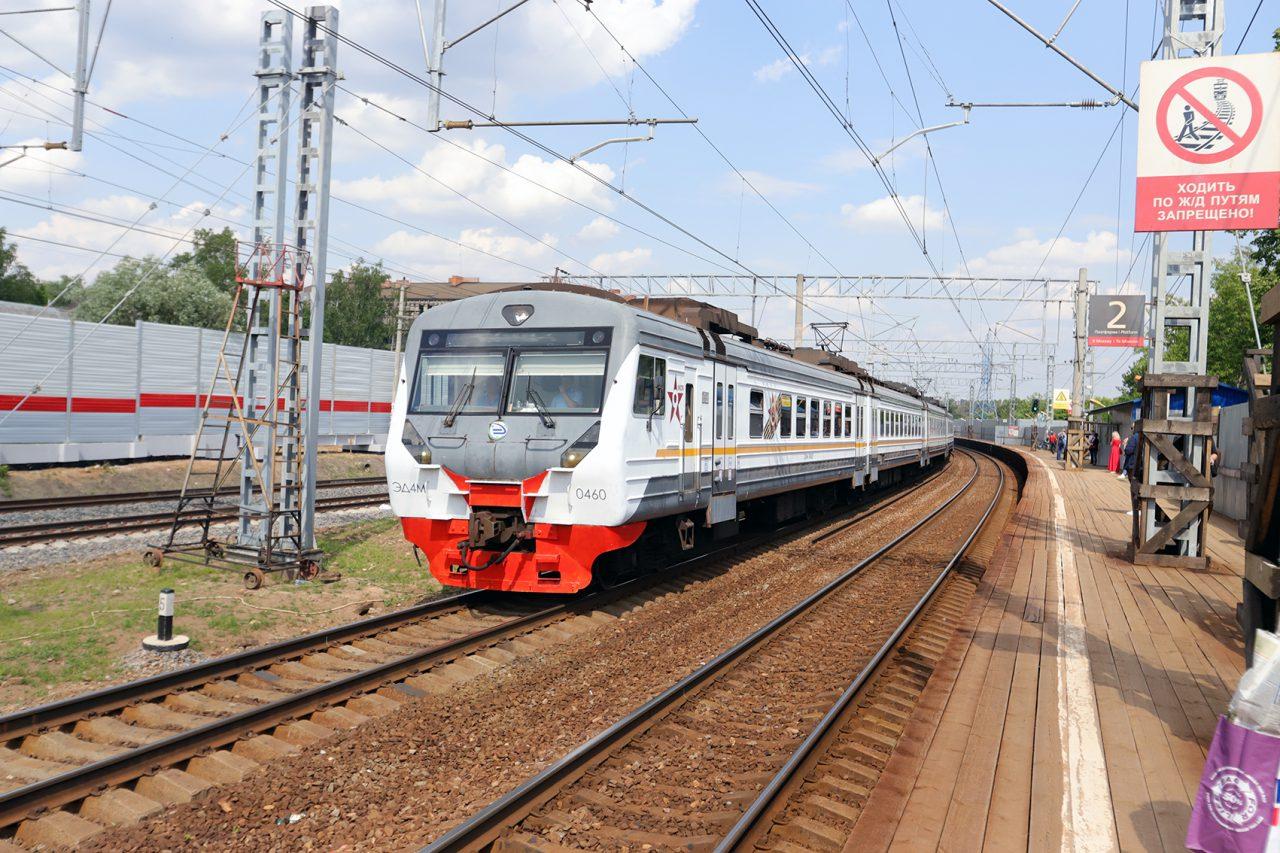 Сергей Собянин рассказал о предстоящем увеличении числа электричек Москва — Одинцово