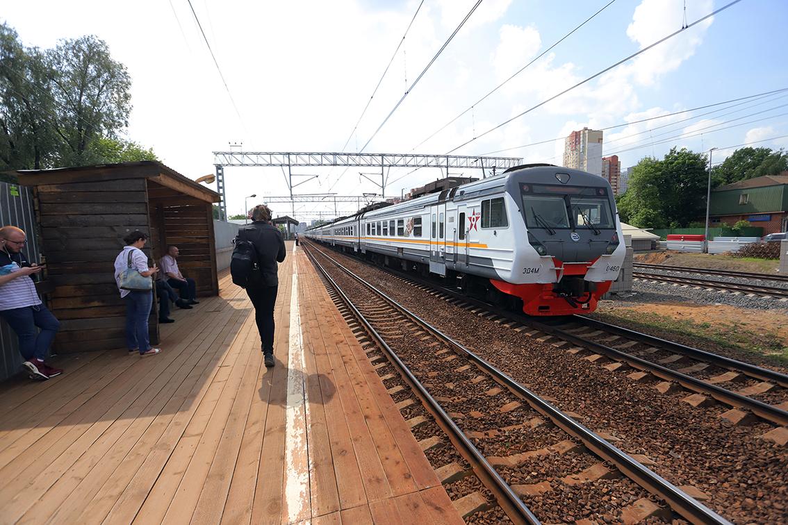 Две станции на Киевском направлении железной дороги откроют в 2020 году
