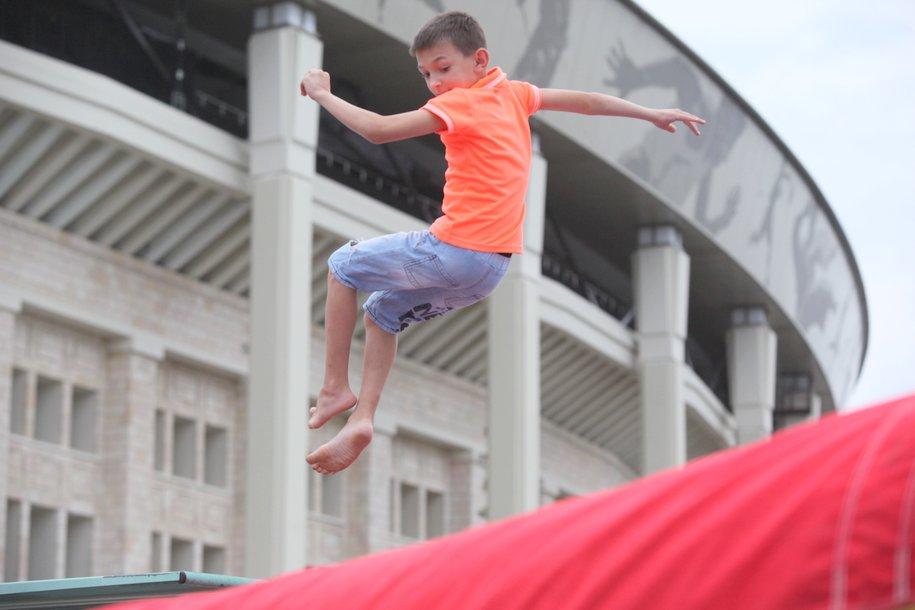 Более 40 спортивных и развлекательных площадок откроют для гостей «Московского спорта в «Лужниках» 27 июля