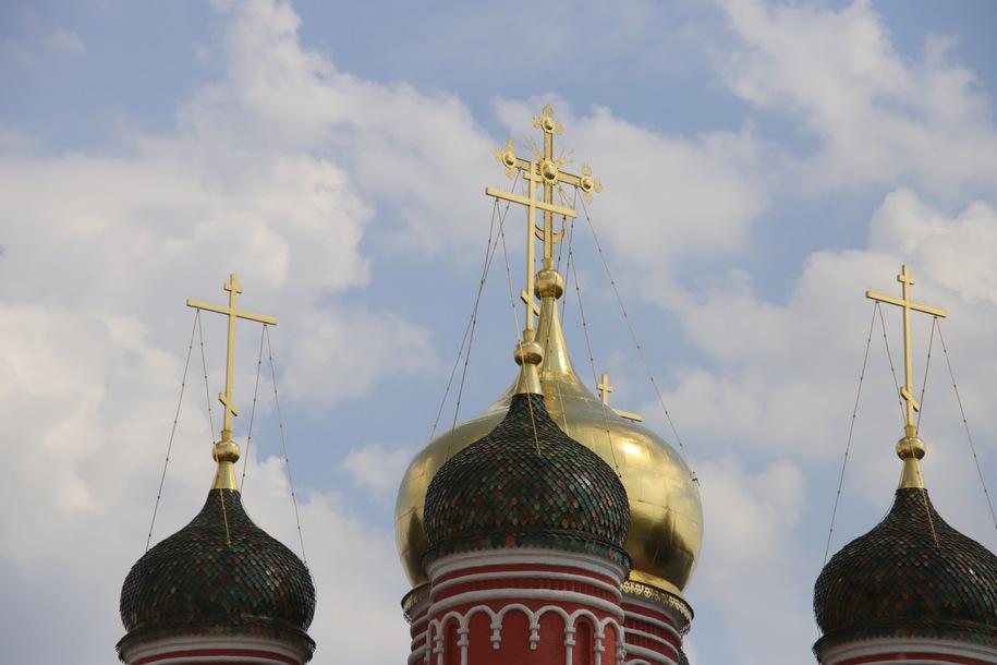 Крещение Руси в Москве отметили крестным ходом
