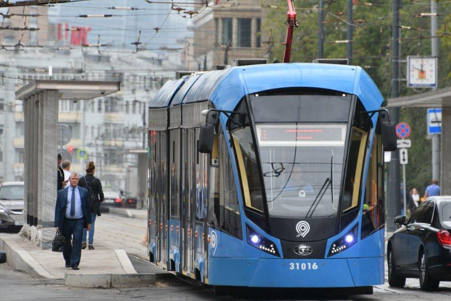 Около 97% трамвайных рейсов в Москве выполняется по расписанию