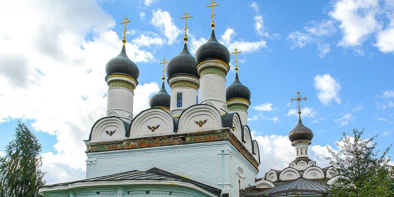 В усадьбе Братцево началась реставрация церкви Покрова Пресвятой Богородицы
