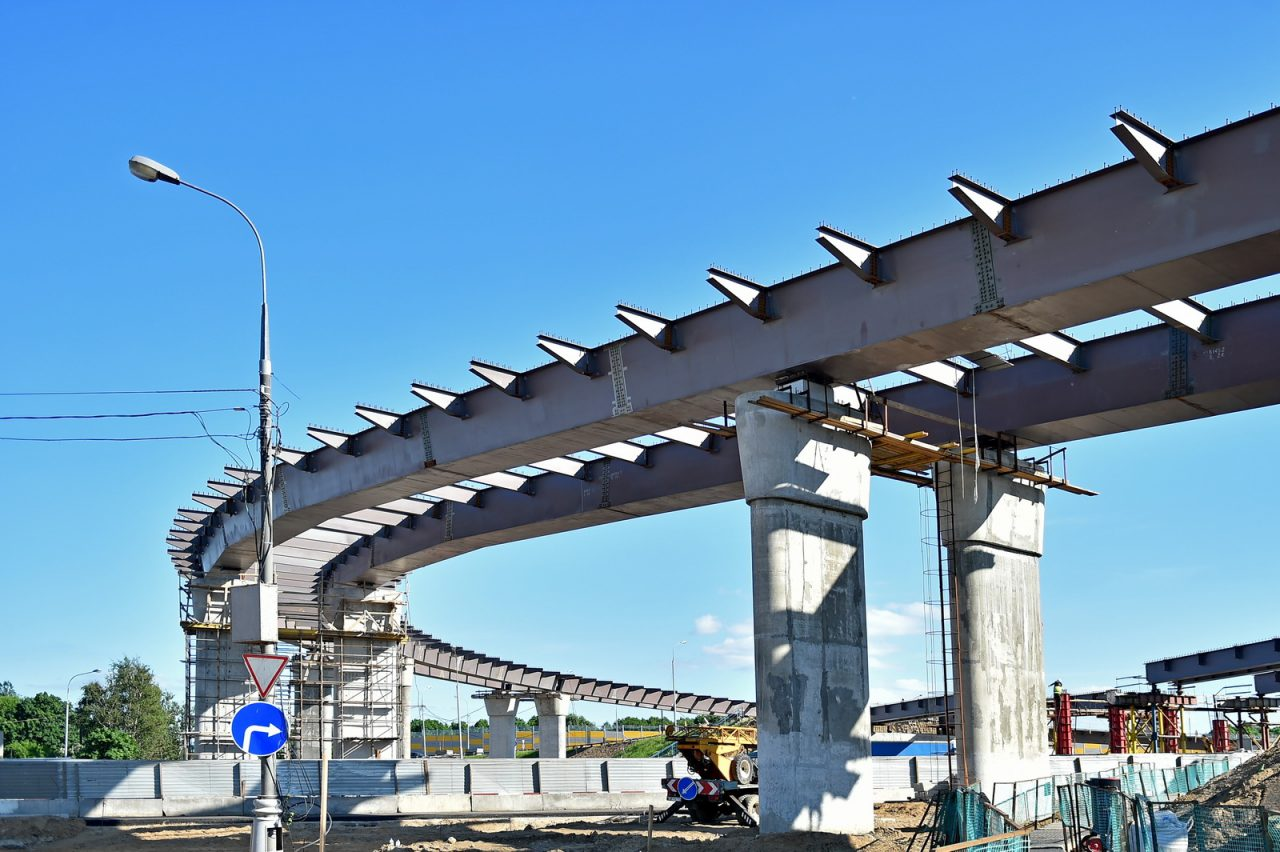 Транспортная развязка на пересечении МКАД с Бесединским шоссе готова на 70%