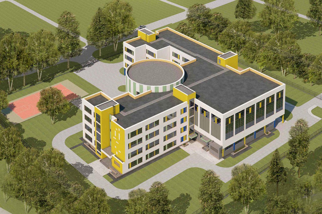 Школу на 550 мест возведут на севере столицы