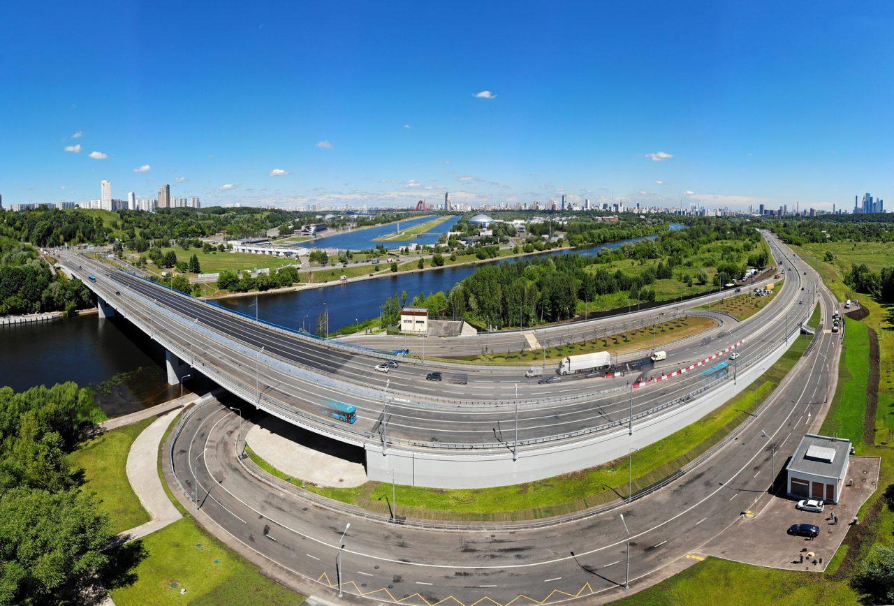 Мост через Москву-реку на Северо-Западной хорде введут в 2020-2021 годах
