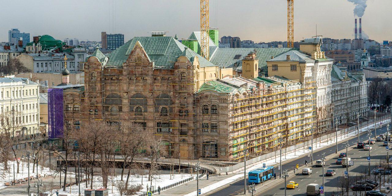 Около 2 млн человек в год будет принимать Политехнический музей после реконструкции
