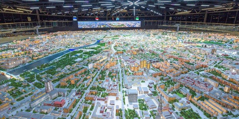 Новые объекты появятся на макете Москвы