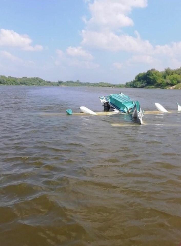 В южном Подмосковье разбился самолет