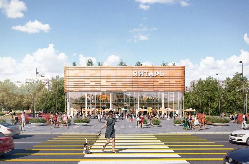 Реконструкцию кинотеатра «Янтарь» планируют завершить в 2020 году