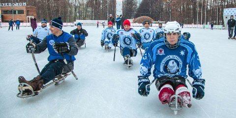 В Москве состоятся соревнования Открытого кубка по следж-хоккею «Кубок мужества»