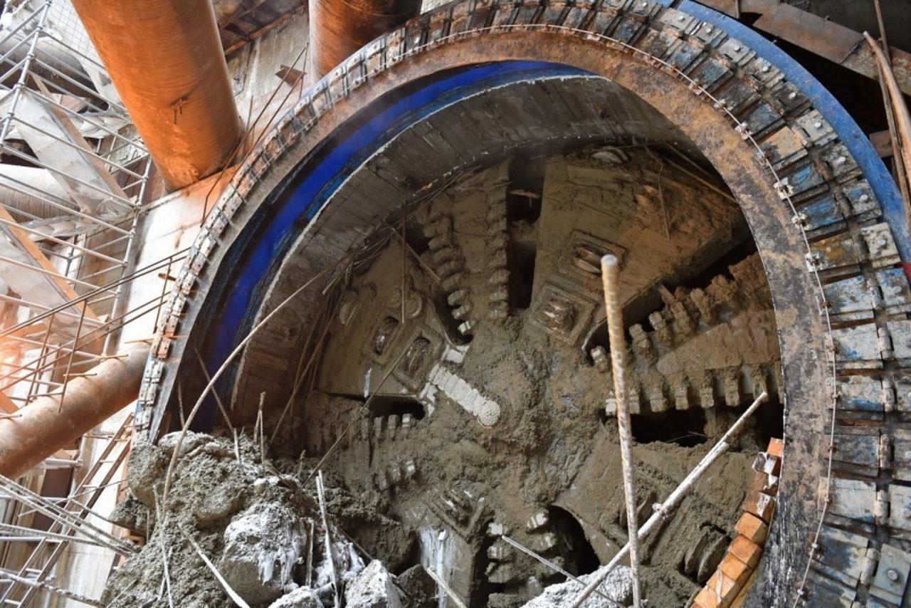 Проходка тоннелей Большого кольца метро завершена на 75%