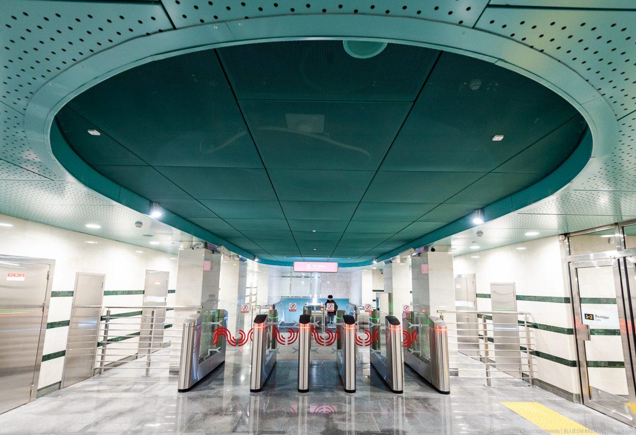 Станция «Беломорская» победила в номинации «Лучший реализованный проект строительства объектов метрополитена»