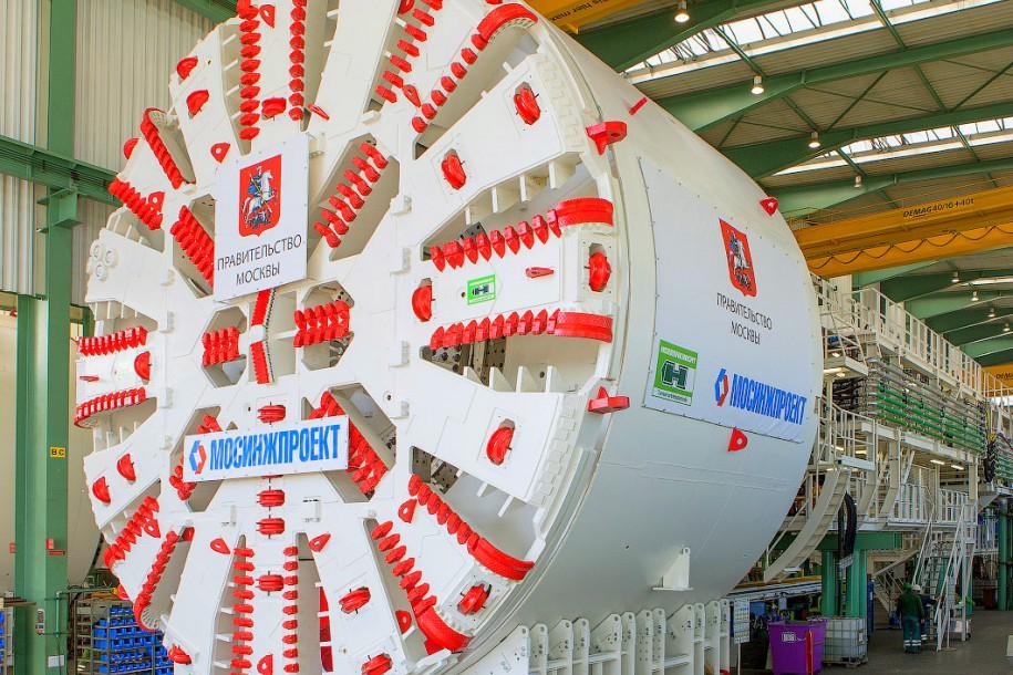 В Китае завершилось производство ТПМК для московского метро