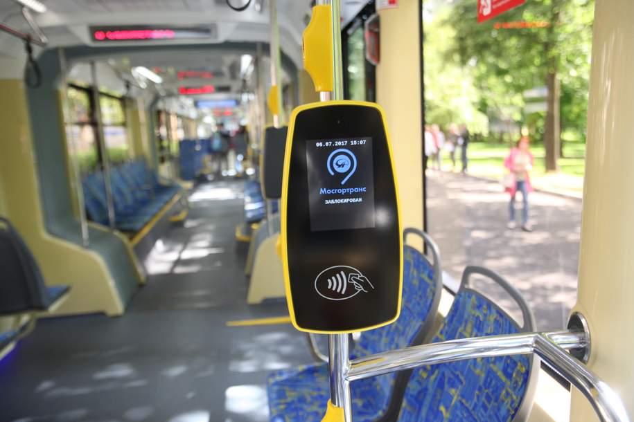 Бесконтактная оплата заработает на всех видах наземного транспорта в сентябре