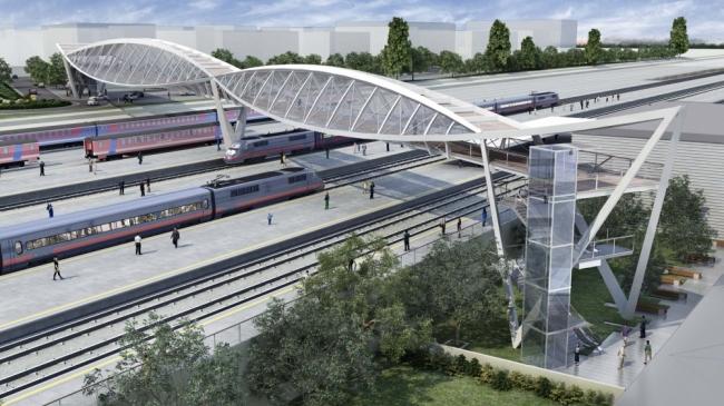 Временную платформу «Сетунь» заменят современным остановочным пунктом