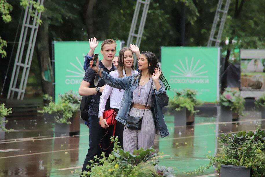 Небольшие дожди ожидаются в Москве в предстоящие выходные