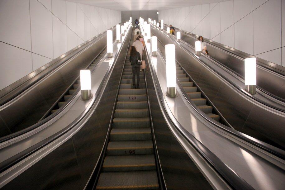 Самый длинный эскалатор в столичном метро установят на станции «Шереметьевская» БКЛ
