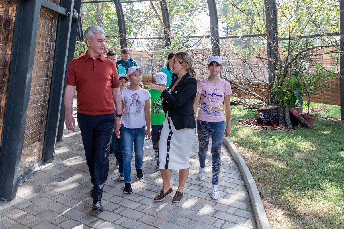 В столице открылся обновлённый детский зоопарк