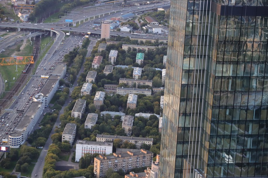 Под эстакадой около «Москва-Сити» построят многоуровневый паркинг