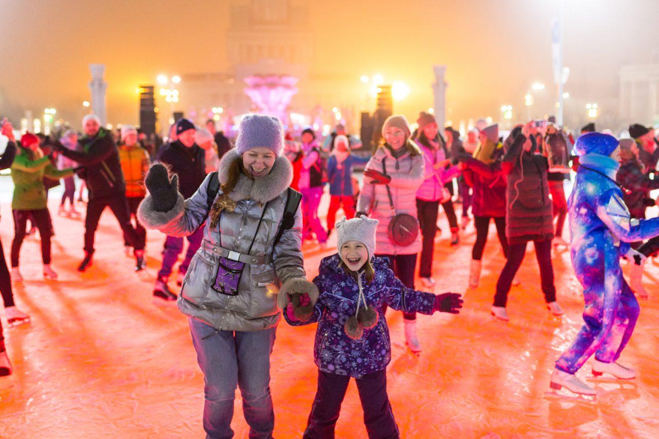 Зимой на ВДНХ откроется самый большой каток в Европе