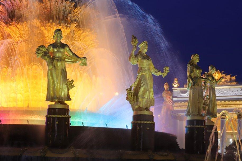 Акция «Хоровод мира» пройдет у фонтана «Дружба народов» на ВДНХ 15 августа