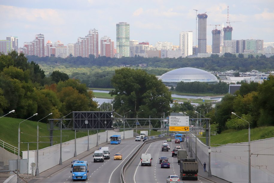 За первые семь месяцев в столице построено почти 50 км дорог