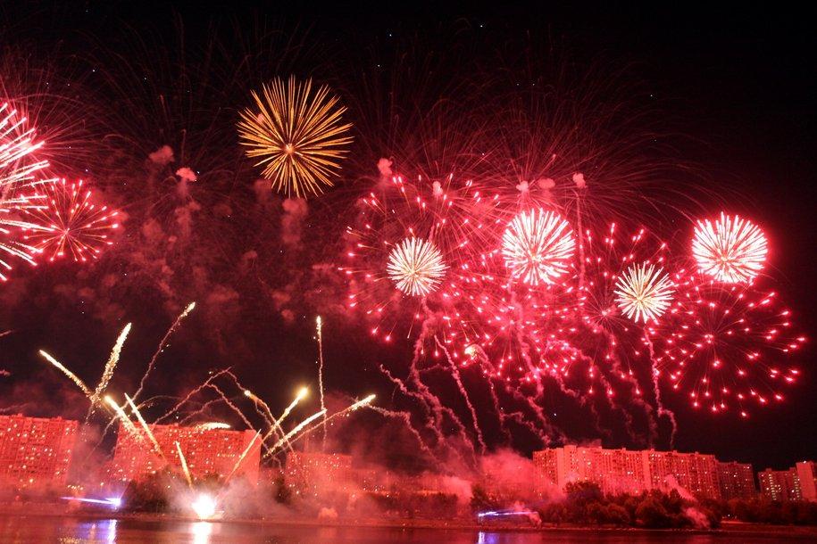В Москве пройдет V Международный фестиваль фейерверков