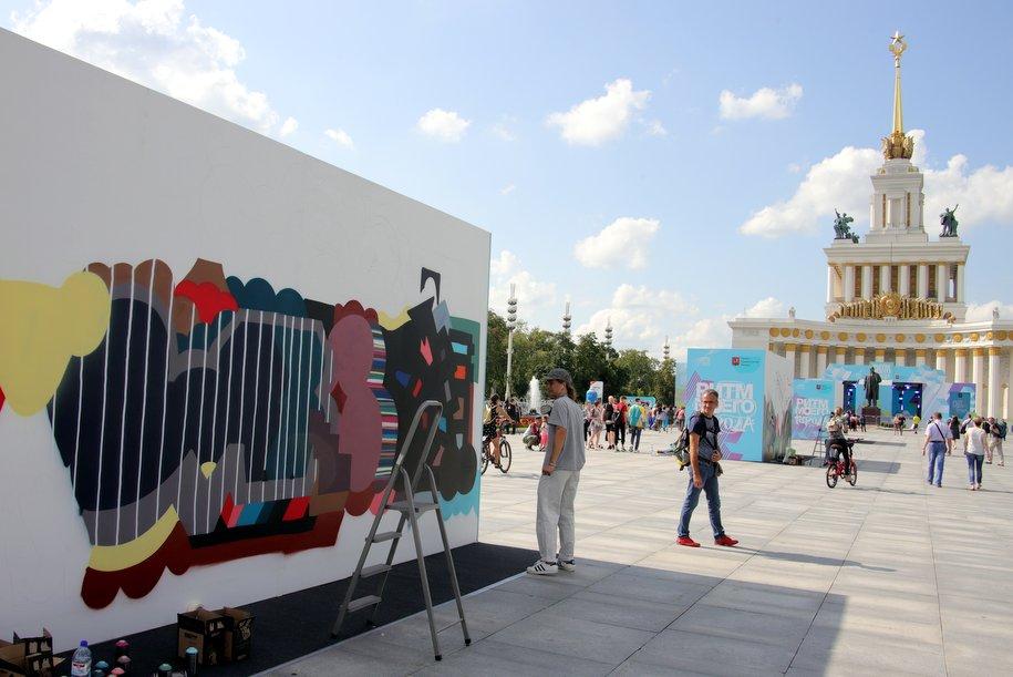 На ВДНХ продолжается фестиваль уличной культуры «Ритм Моего Города»