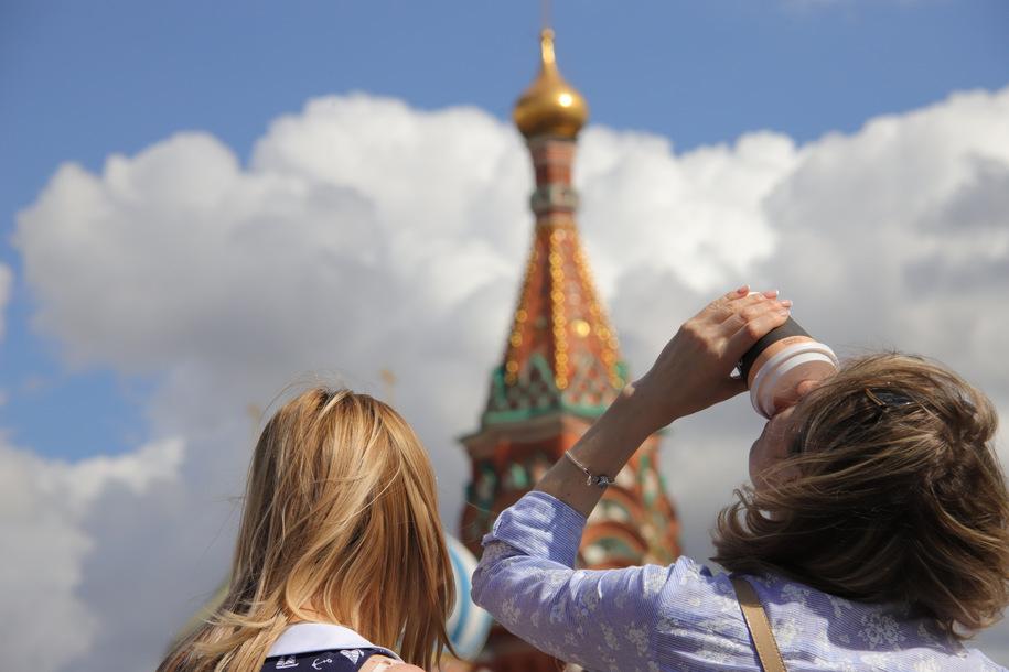 Названы самые популярные туристические места Москвы в Instagram