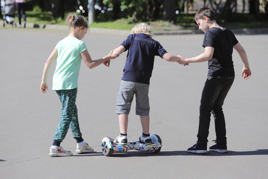 Новые игровые площадки обустроили в Детском Черкизовском парке