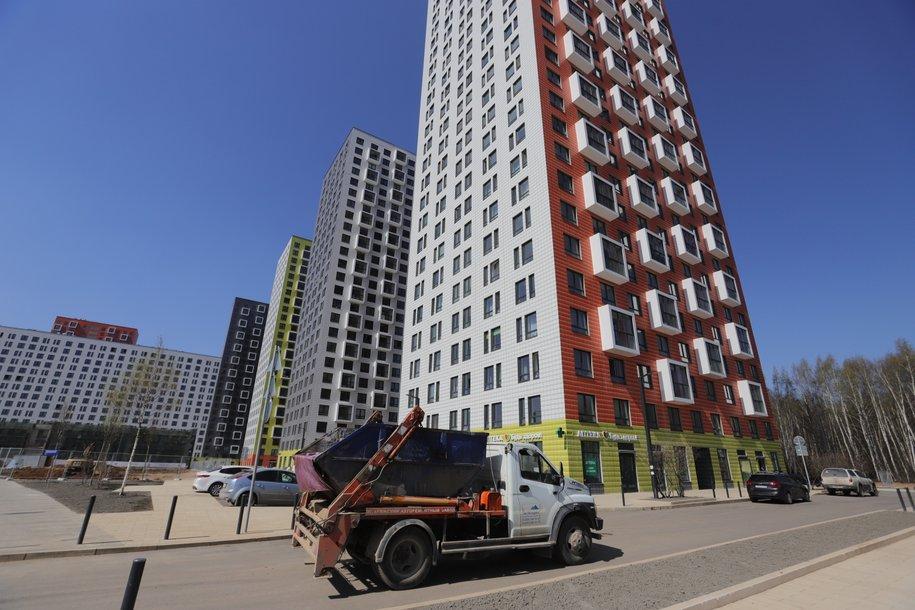 С начала года в Москве построено почти 3 млн кв.м жилья