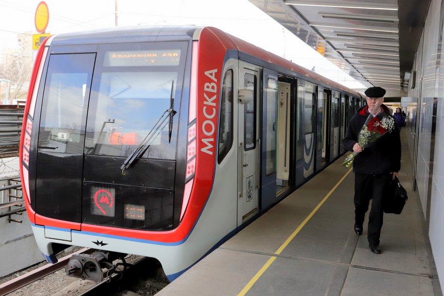 Выбран дизайн для второго поколения поезда «Москва»