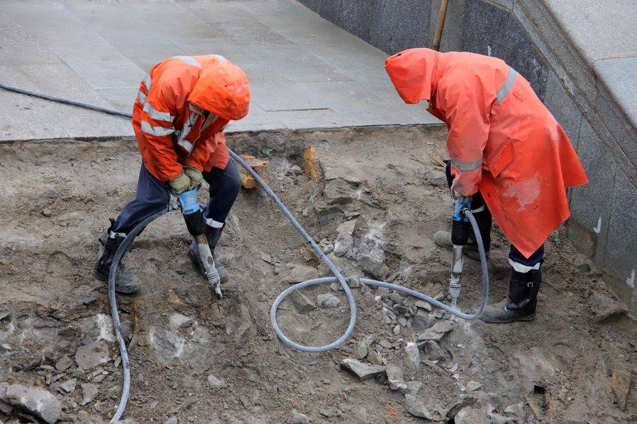 Реконструкцию Дорожной улицы планируют завершить до конца года