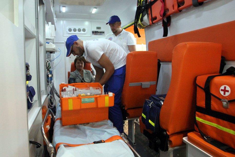 В Некрасовке начала круглогодичную работу подстанция скорой помощи