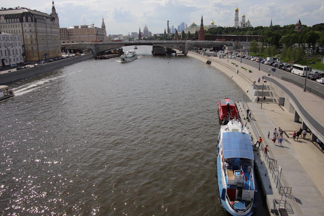 Реализована треть программы благоустройства набережных Москвы-реки