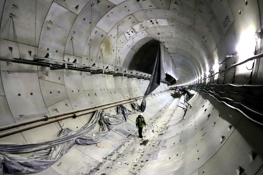 Завершено строительство тоннеля между станциями «Нижегородская» и «Авиамоторная» БКЛ метро