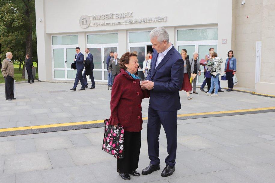 Мэр Москвы открыл музей истории ВДНХ