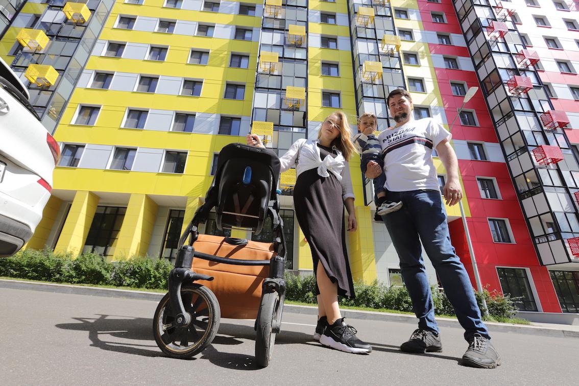 С начала года в Москве построено  почти 5,3 млн кв.м недвижимости