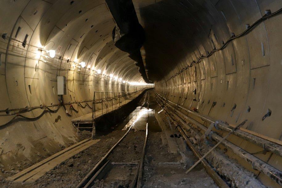 Пройдено боле 70% Большой Кольцевой линии метро