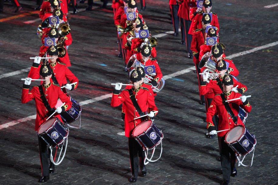 Шествие участников военно-музыкального фестиваля «Спасская башня» пройдет на ВДНХ 24 августа