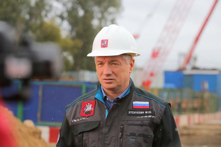 Строительство второго участка Некрасовской линии завершат к концу года